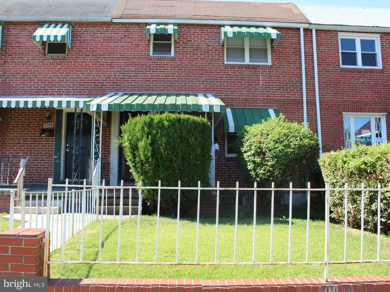 Single Family for Sale at 3013 E Federal St Baltimore, Maryland 21213 United States