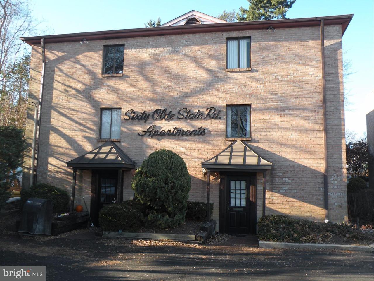 Casa Unifamiliar por un Alquiler en 60 OLD STATE RD #10 Media, Pennsylvania 19063 Estados Unidos