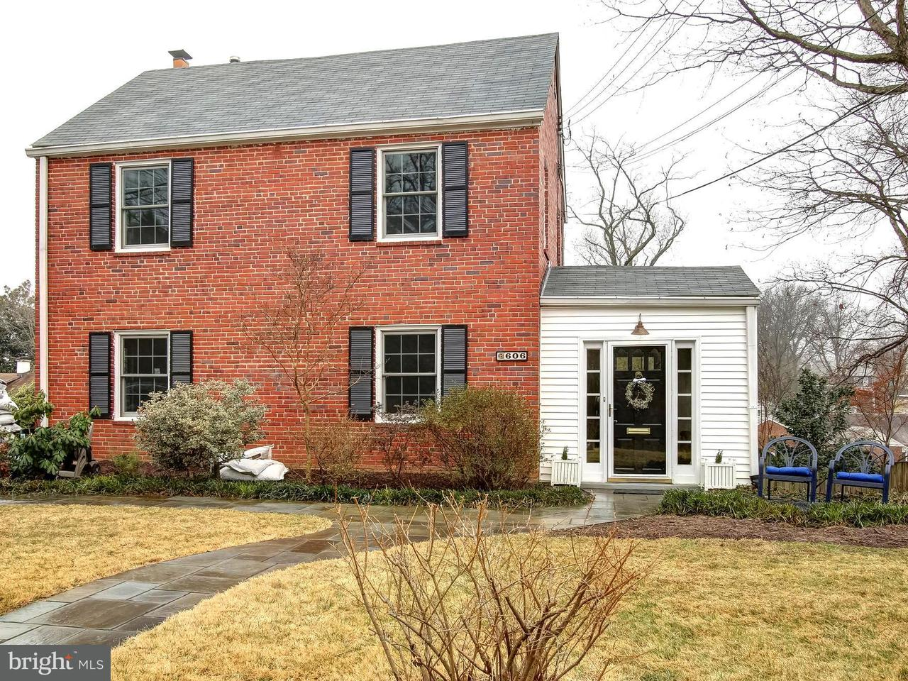 Single Family Home for Sale at 606 Ritchie Avenue 606 Ritchie Avenue Silver Spring, Maryland 20910 United States