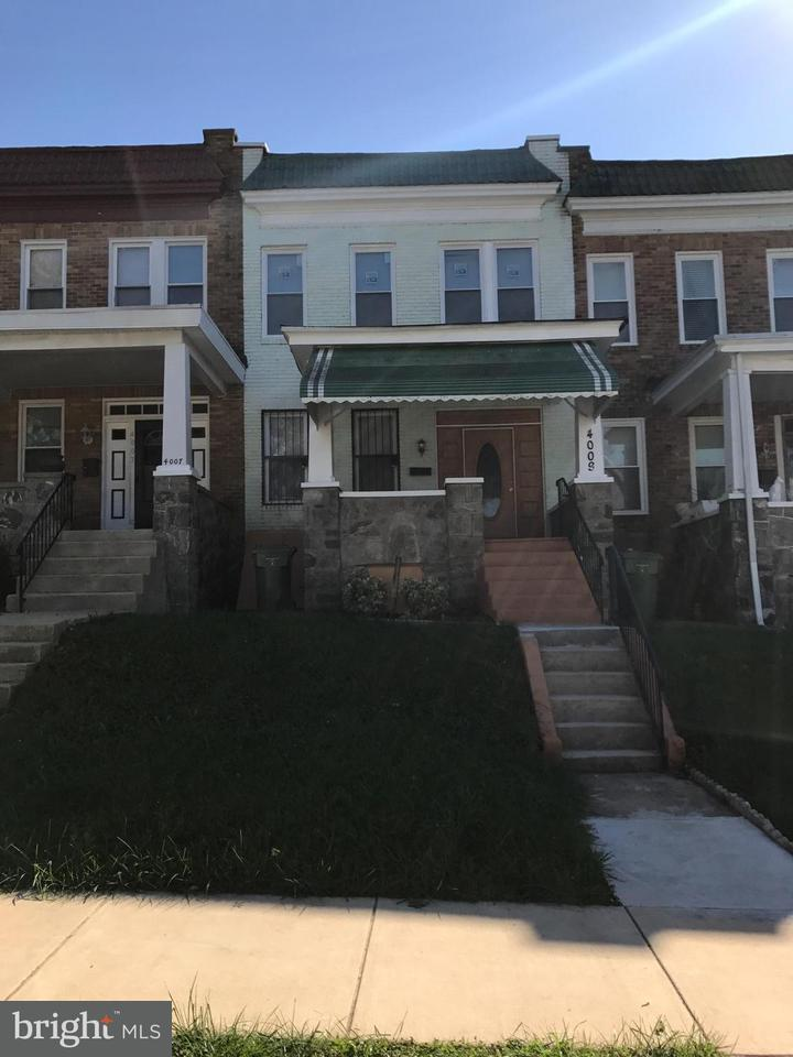 Single Family for Sale at 4009 Fairview Ave Baltimore, Maryland 21216 United States