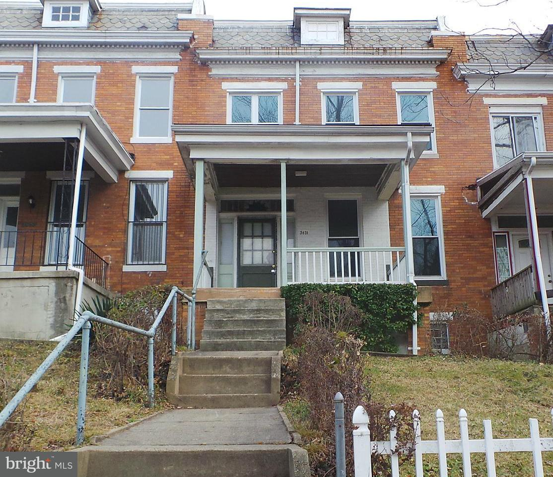 Single Family for Sale at 3631 Cottage Ave Baltimore, Maryland 21215 United States