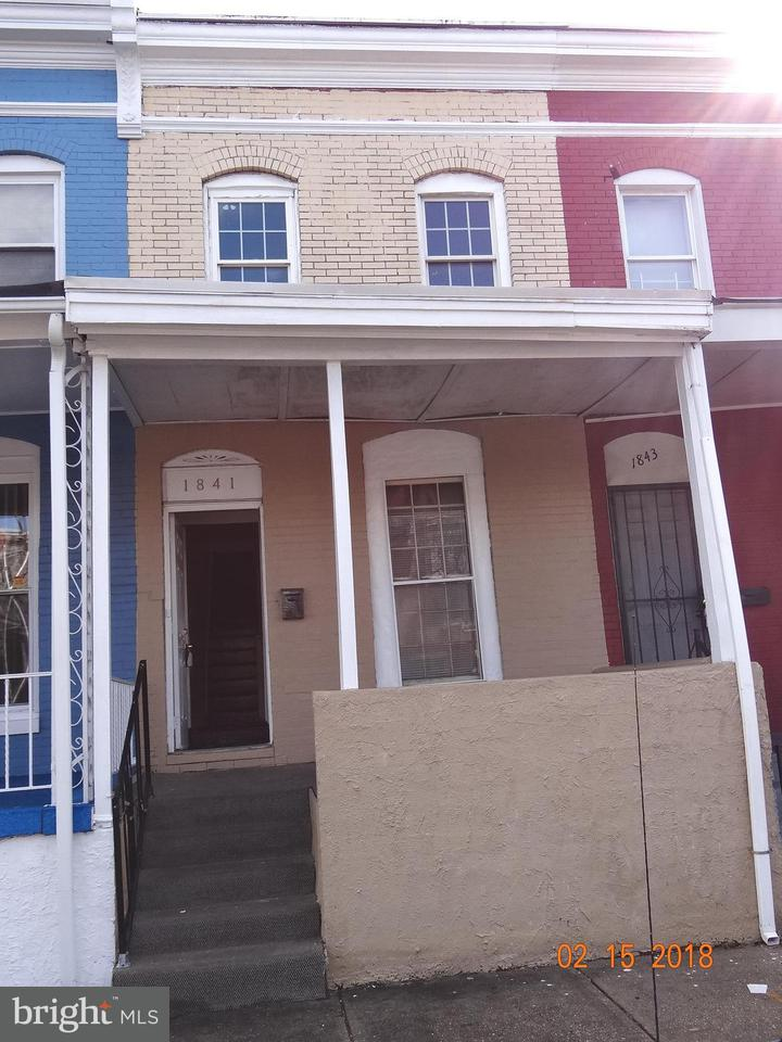 Single Family for Sale at 1841 Presstman St Baltimore, Maryland 21217 United States