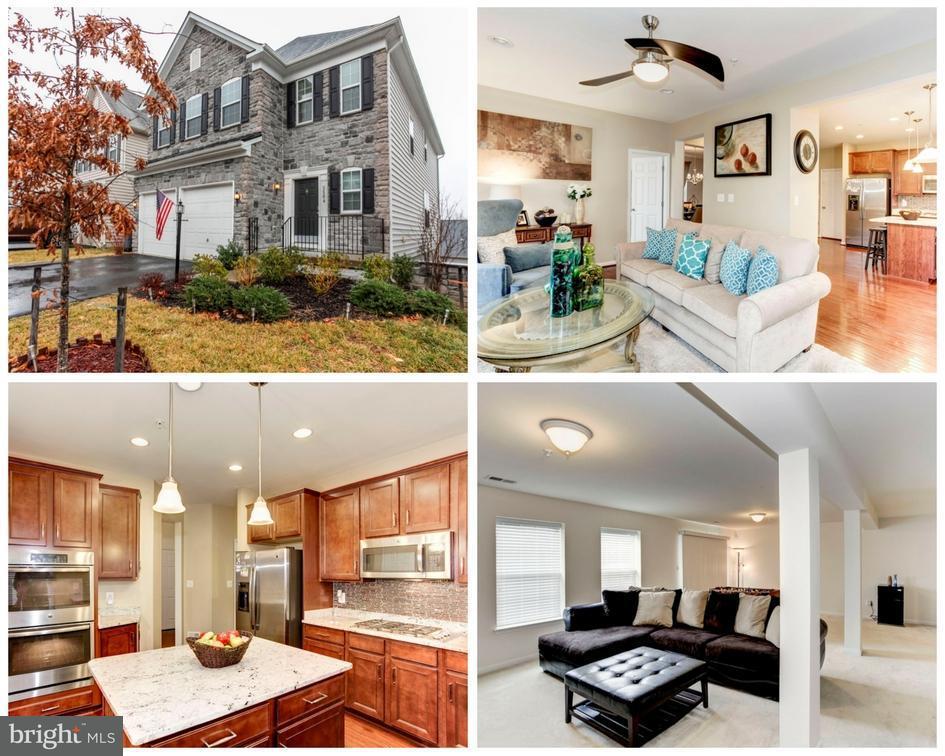 Photo of home for sale at 3504 Eagle Ridge Drive, Woodbridge VA