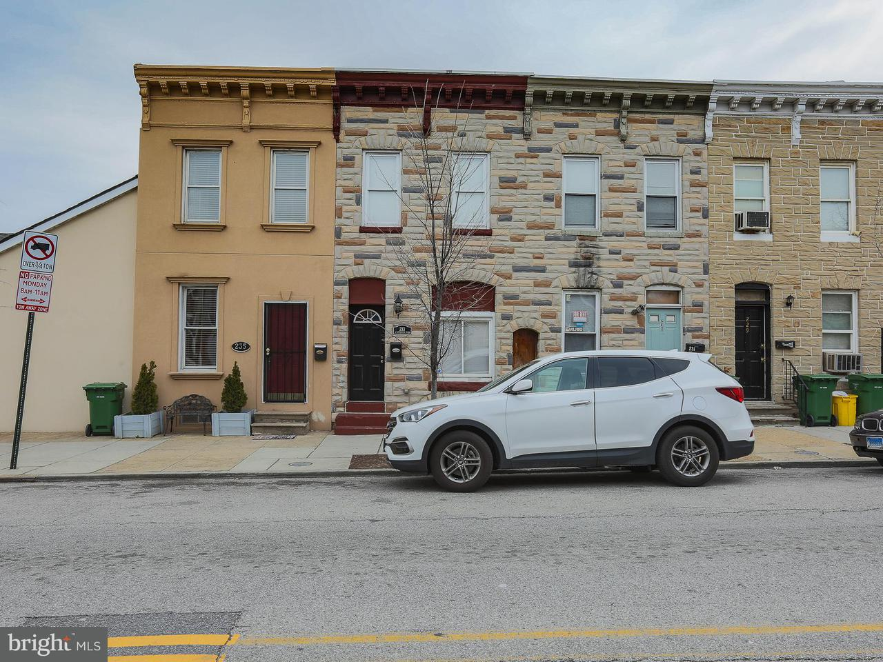 Single Family for Sale at 233 N Patterson Park Ave Baltimore, Maryland 21231 United States
