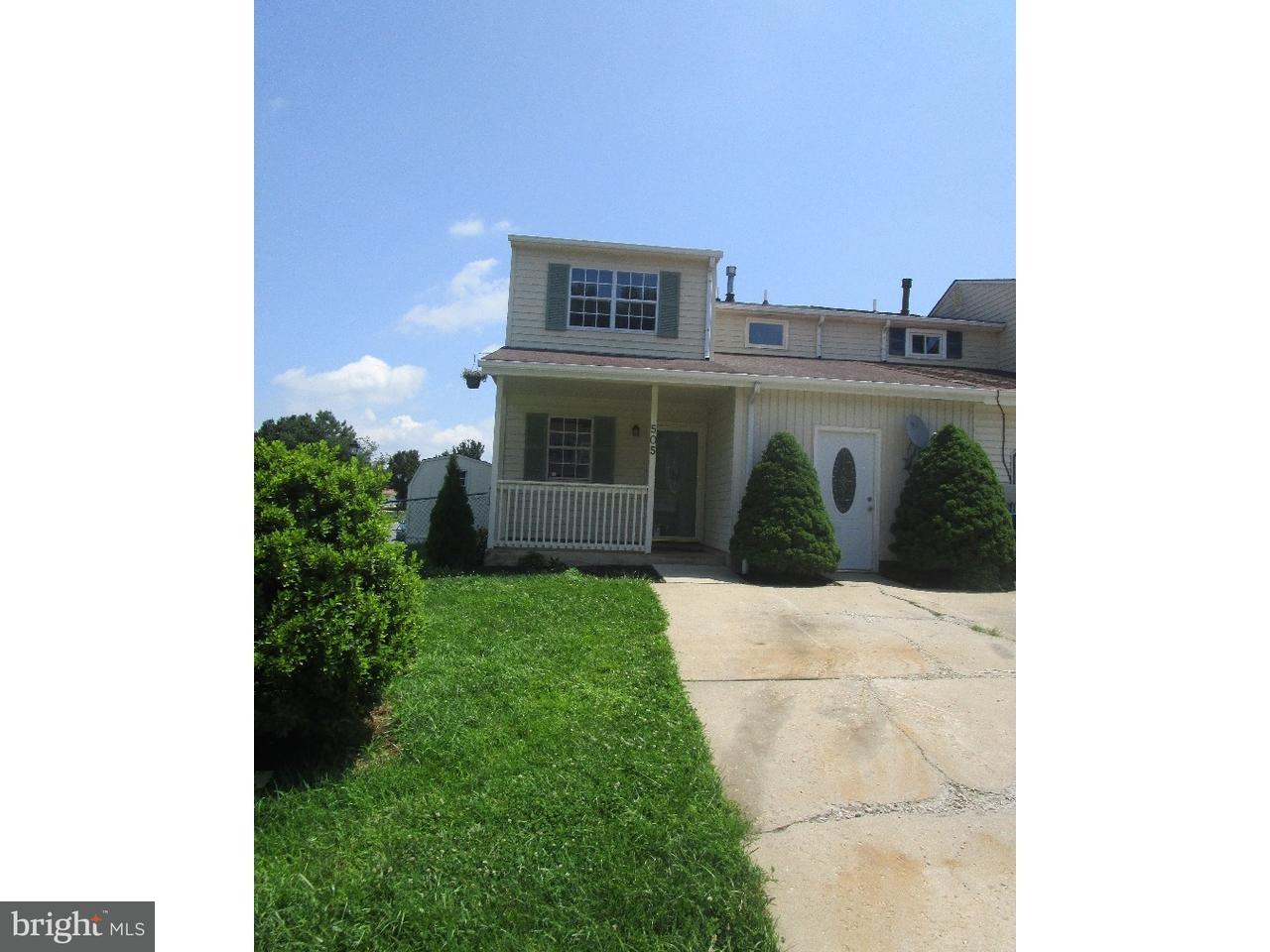 Townhouse for Rent at 505 BLACKBIRD Drive Bear, Delaware 19701 United States