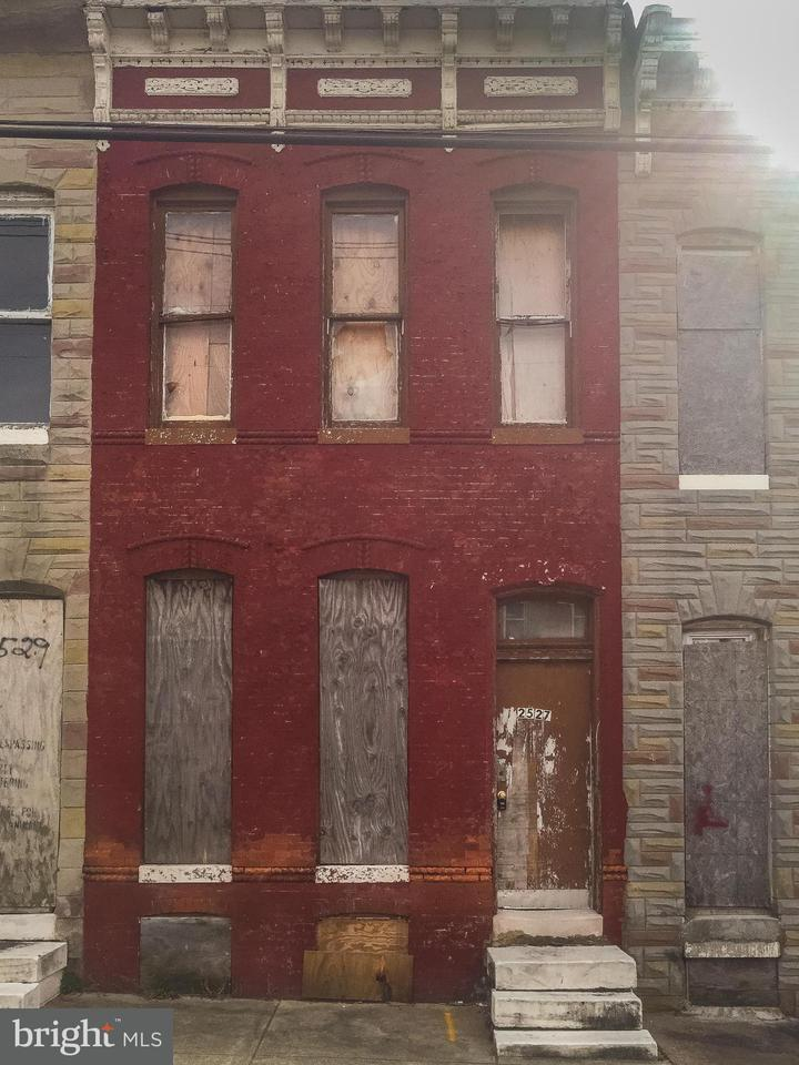 Photo of home for sale at 2527 Oliver Street E, Baltimore MD