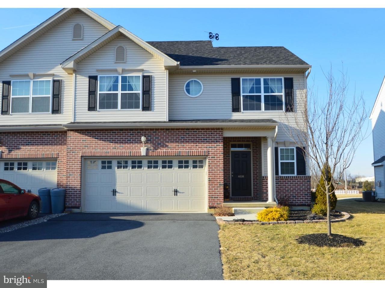 联栋屋 为 销售 在 408 RACITE Road Alburtis, 宾夕法尼亚州 18011 美国