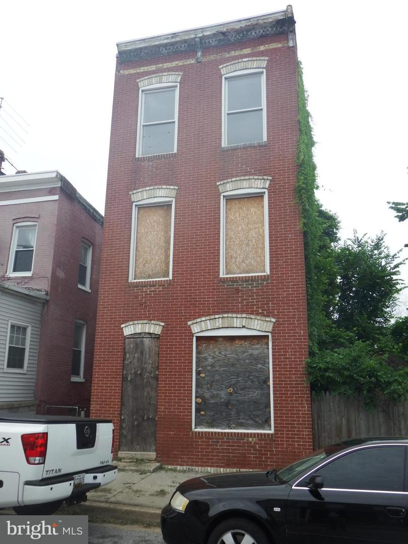 Single Family for Sale at 1612 Elmtree St Baltimore, Maryland 21226 United States