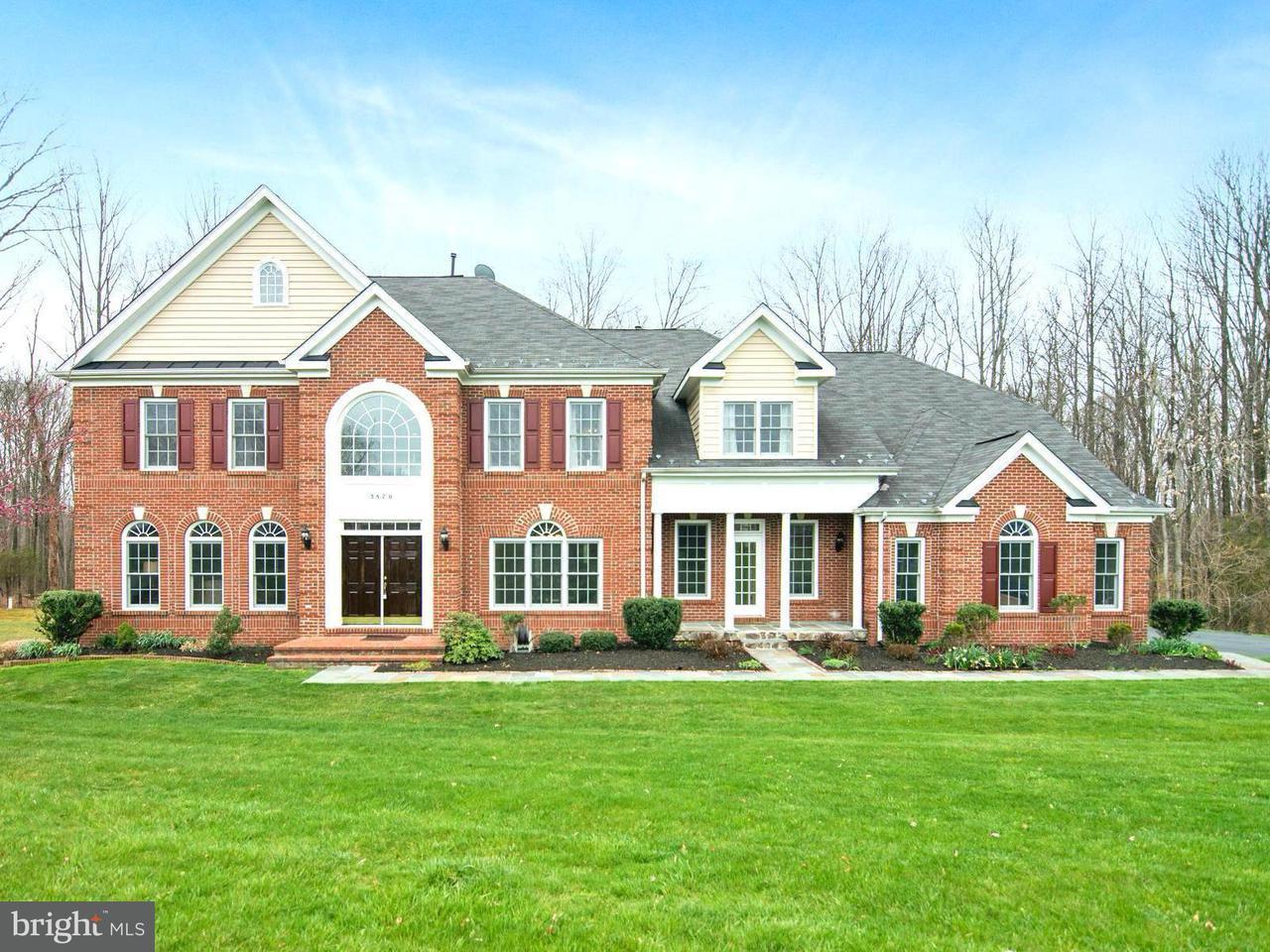 一戸建て のために 売買 アット 3870 Avonlea Way 3870 Avonlea Way Catharpin, バージニア 20143 アメリカ合衆国