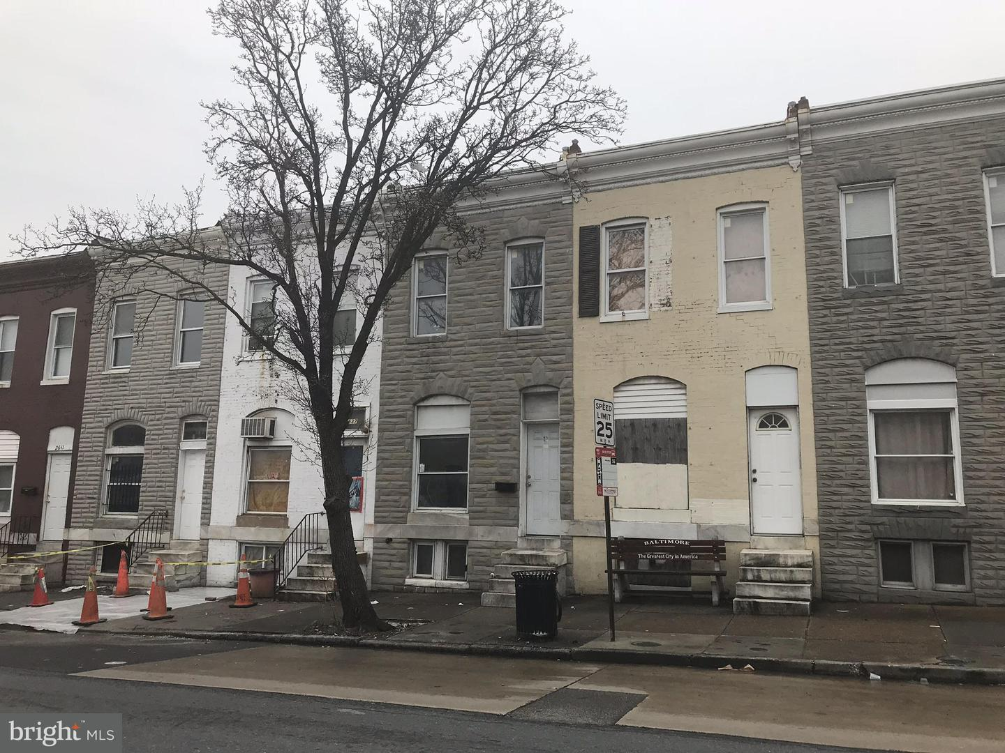 Single Family for Sale at 2635 Monument St Baltimore, Maryland 21205 United States