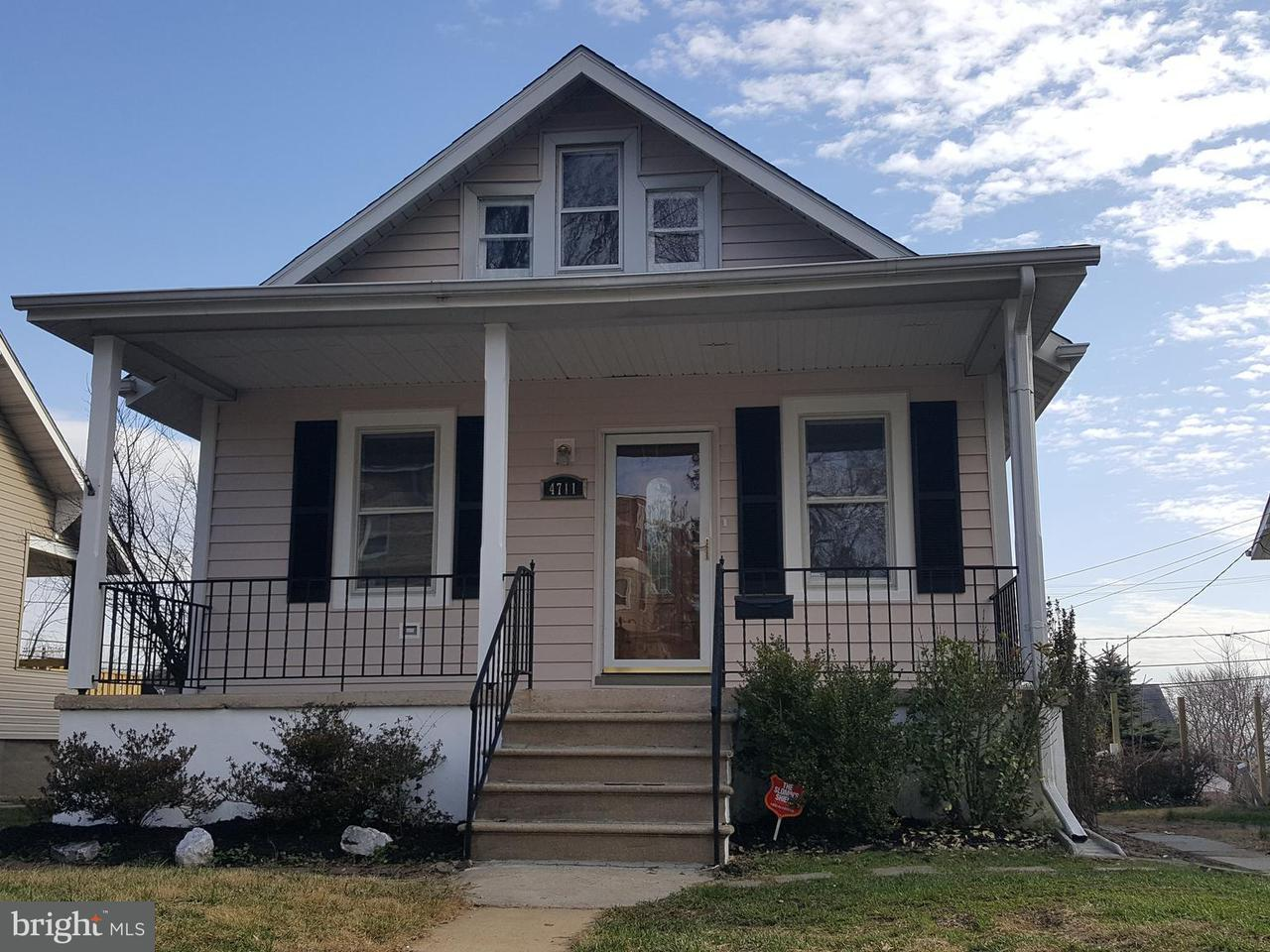 Single Family for Sale at 4711 Schley Ave Baltimore, Maryland 21206 United States