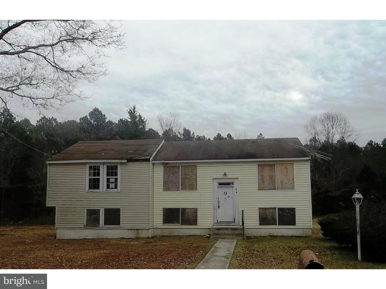 Casa Unifamiliar por un Venta en 318 10TH Street Newtonville, Nueva Jersey 08346 Estados Unidos