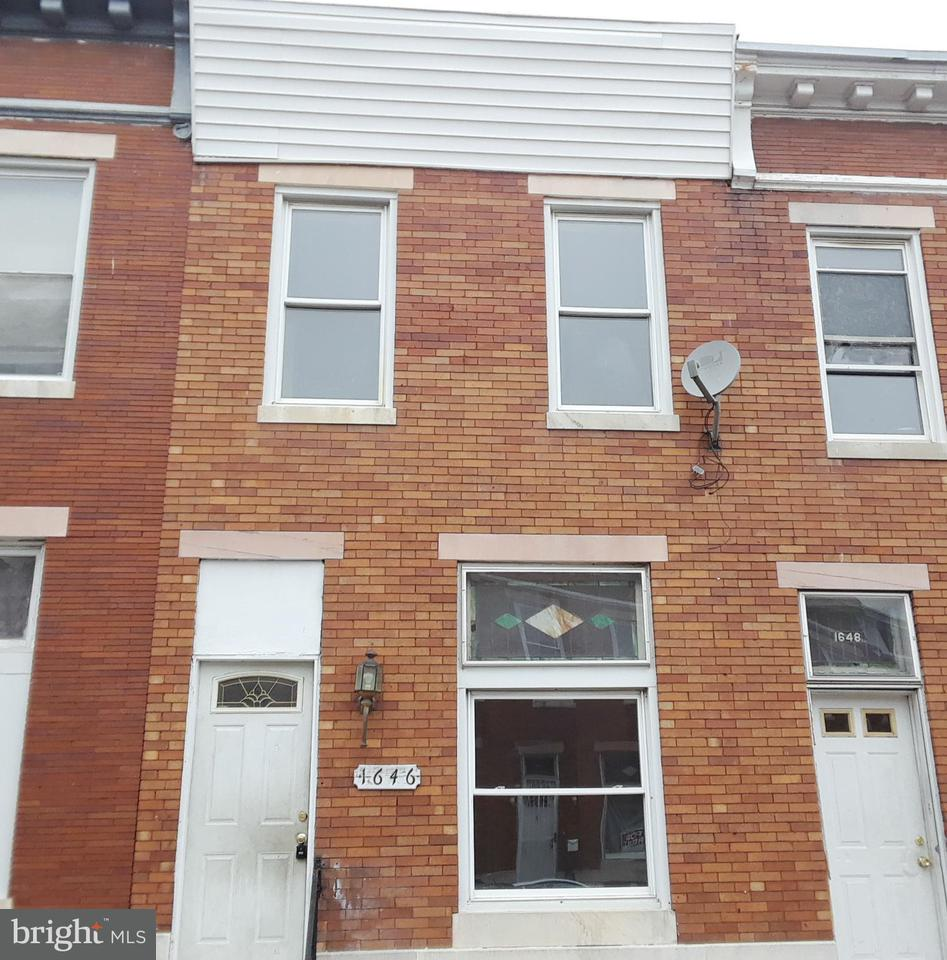 Single Family for Sale at 1646 Darley Ave Baltimore, Maryland 21213 United States