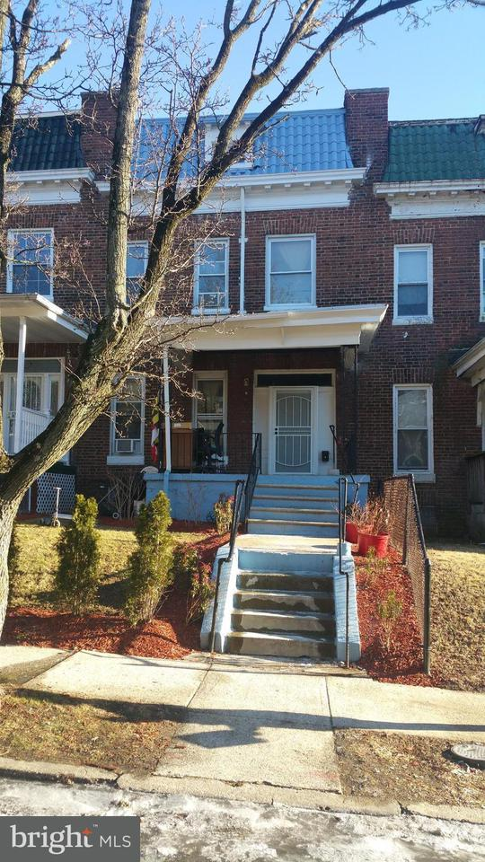 Single Family for Sale at 2909 Norfolk Ave Baltimore, Maryland 21215 United States