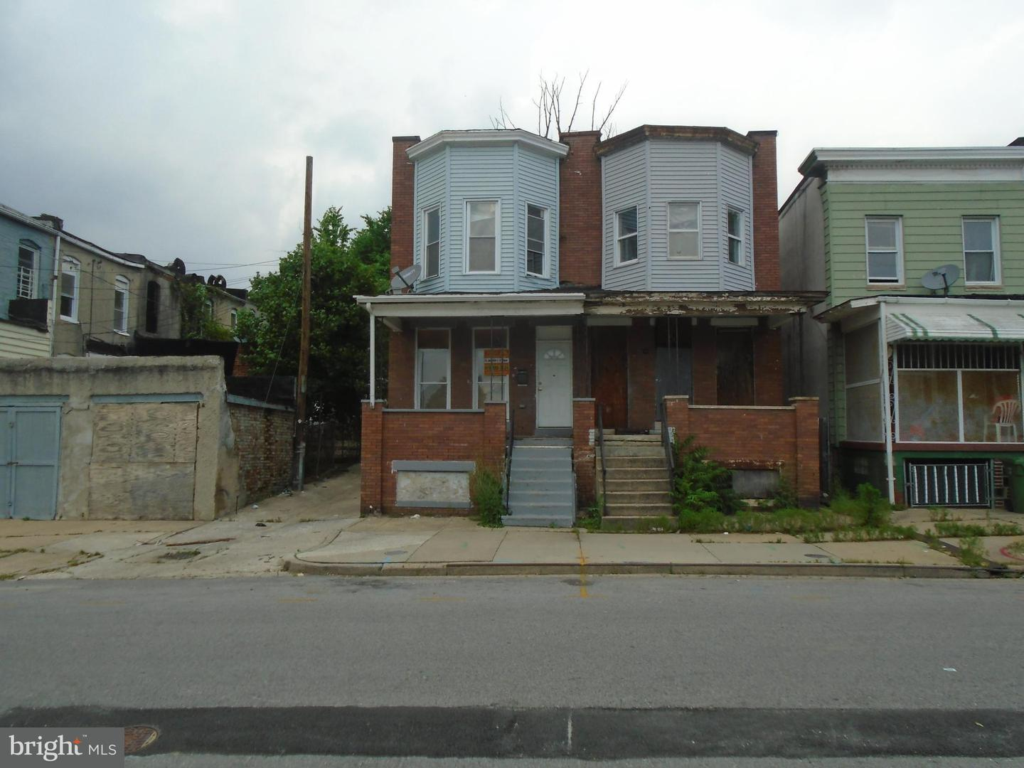 Single Family for Sale at 2018 Presbury St Baltimore, Maryland 21217 United States