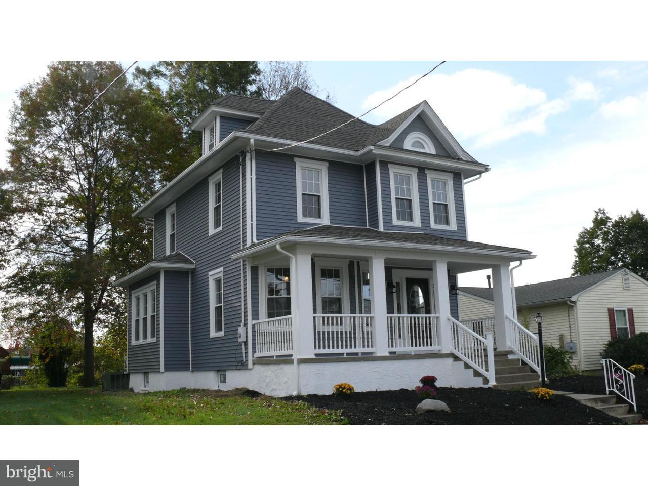 Maison unifamiliale pour l Vente à 318 W WASHINGTON Avenue Magnolia, New Jersey 08049 États-Unis