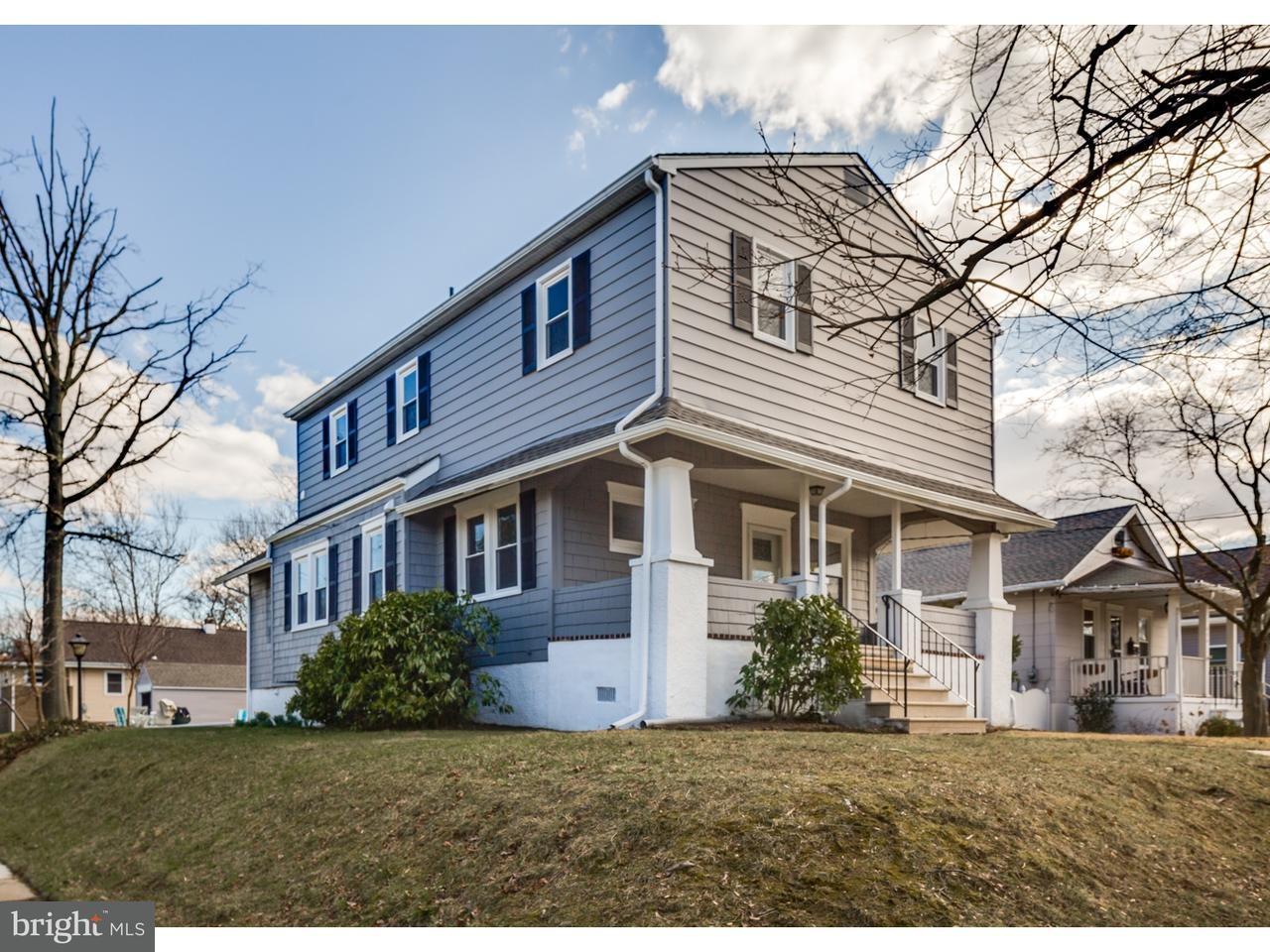Single Family Home for Sale at 600 W GRAISBURY Avenue Audubon, New Jersey 08106 United States