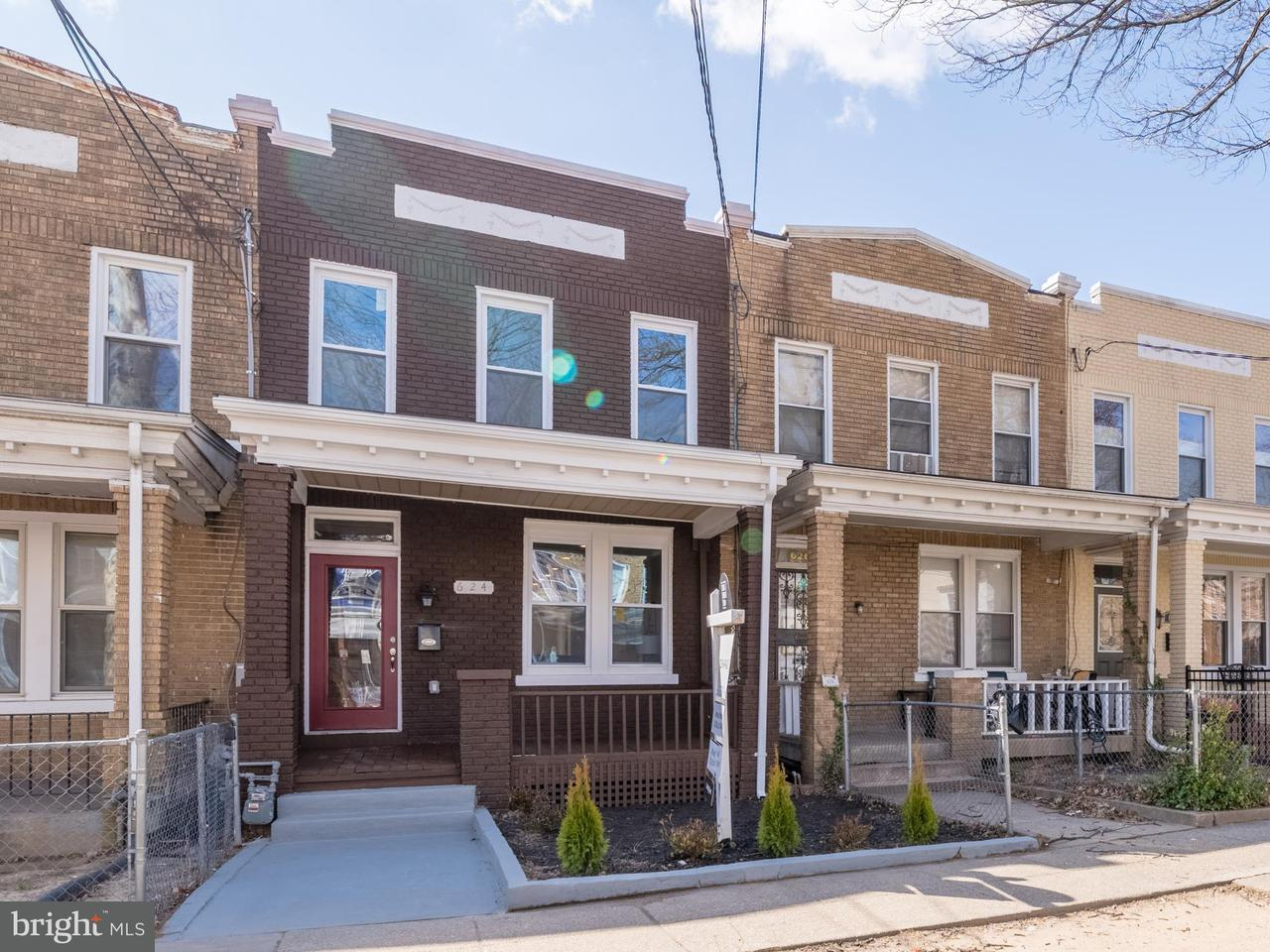 Single Family for Sale at 624 Jefferson St NW Washington, District Of Columbia 20011 United States