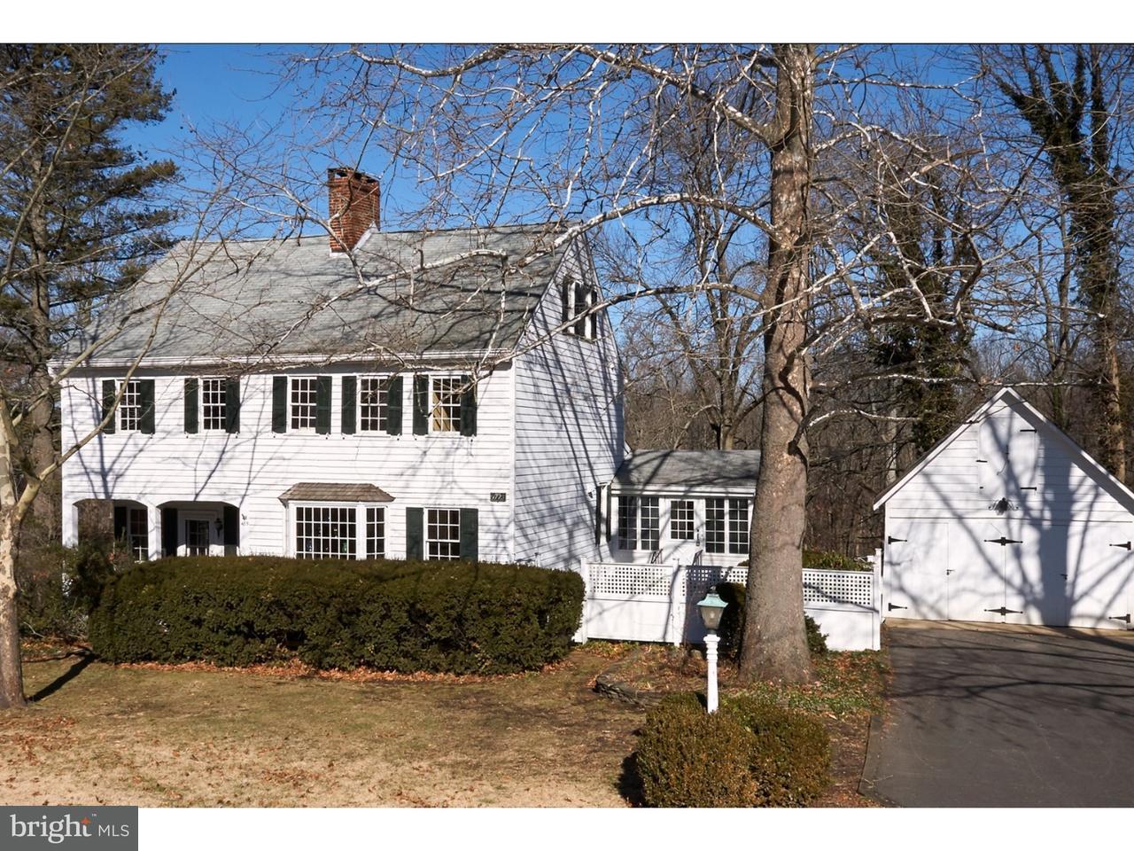 Частный односемейный дом для того Продажа на 485 MAIN Street Crosswicks, Нью-Джерси 08515 Соединенные ШтатыВ/Около: Chesterfield Township