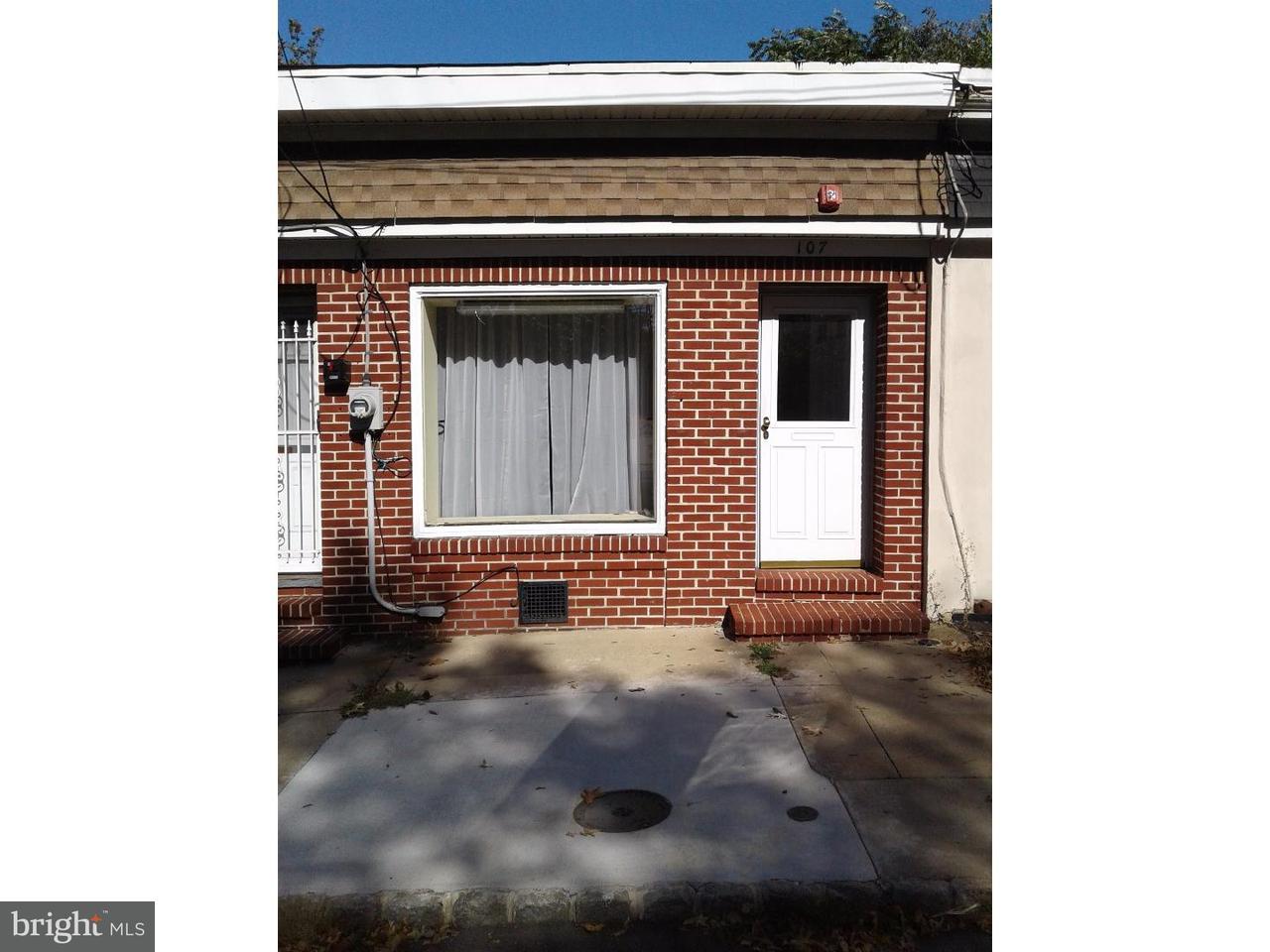 Частный односемейный дом для того Продажа на 107 E ATLANTIC Avenue Audubon, Нью-Джерси 08106 Соединенные Штаты