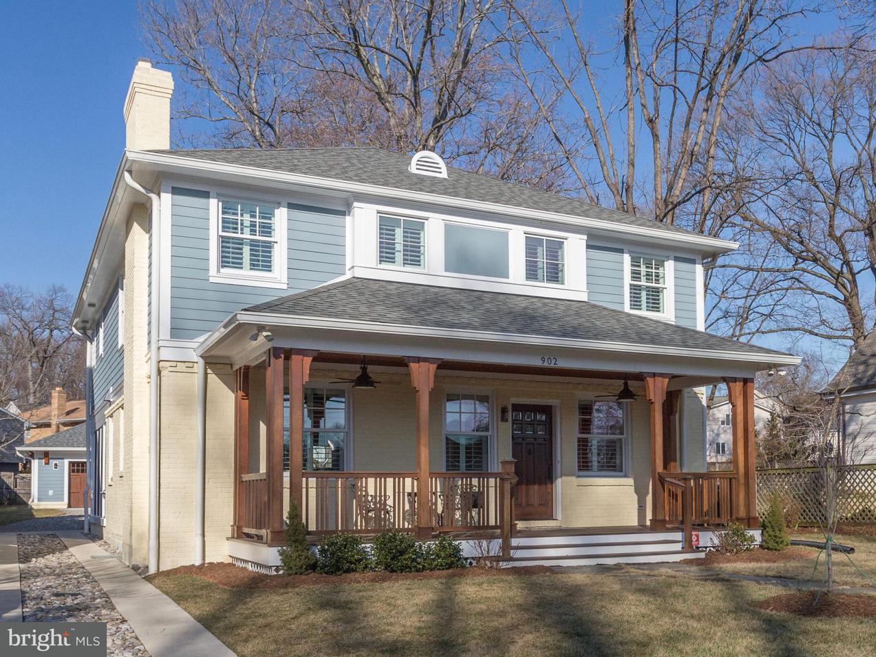 獨棟家庭住宅 為 出售 在 902 Lincoln Avenue 902 Lincoln Avenue Falls Church, 弗吉尼亞州 22046 美國