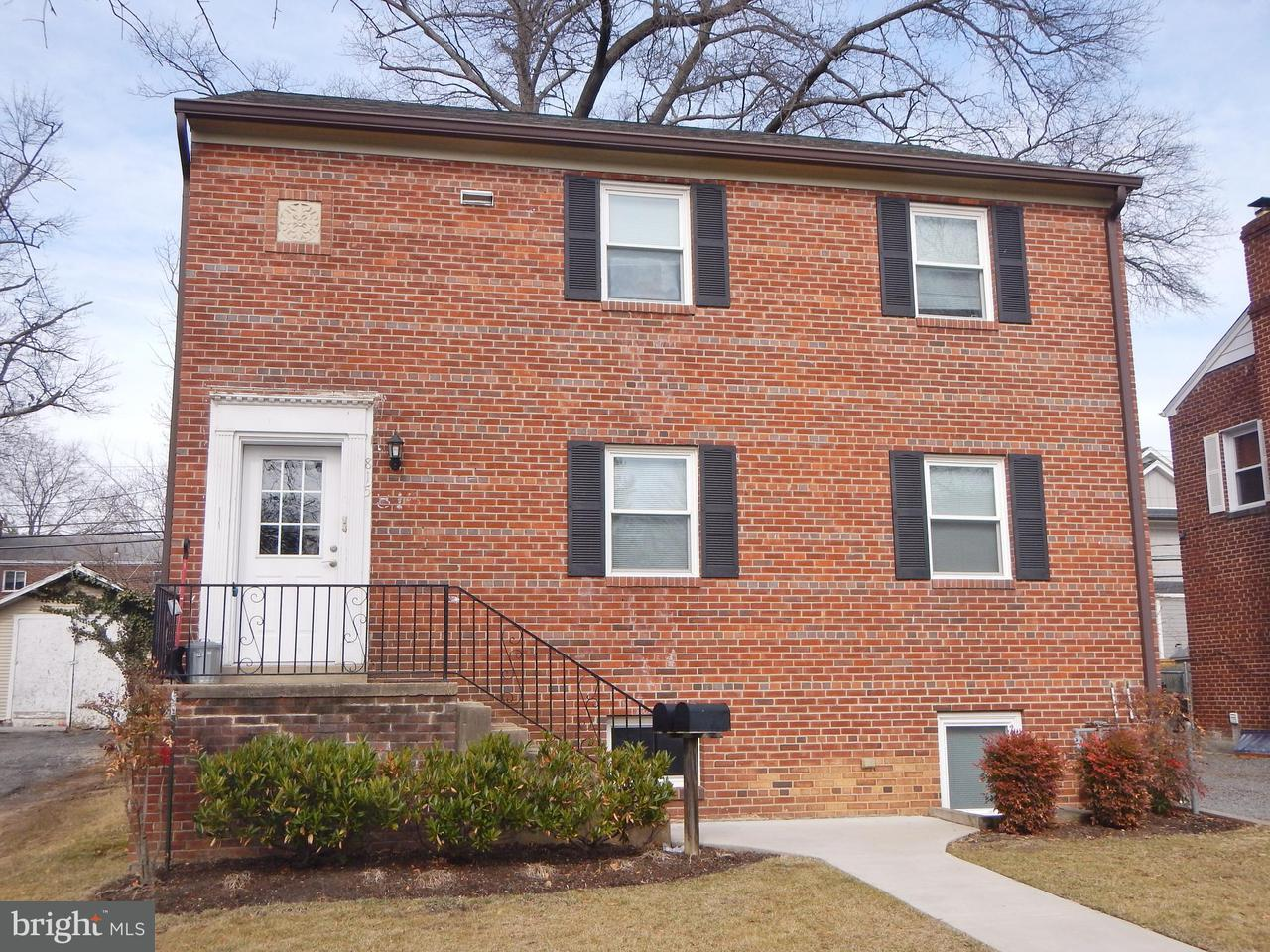 Multi-Family Home for Sale at 815 23rd St S 815 23rd St S Arlington, Virginia 22202 United States