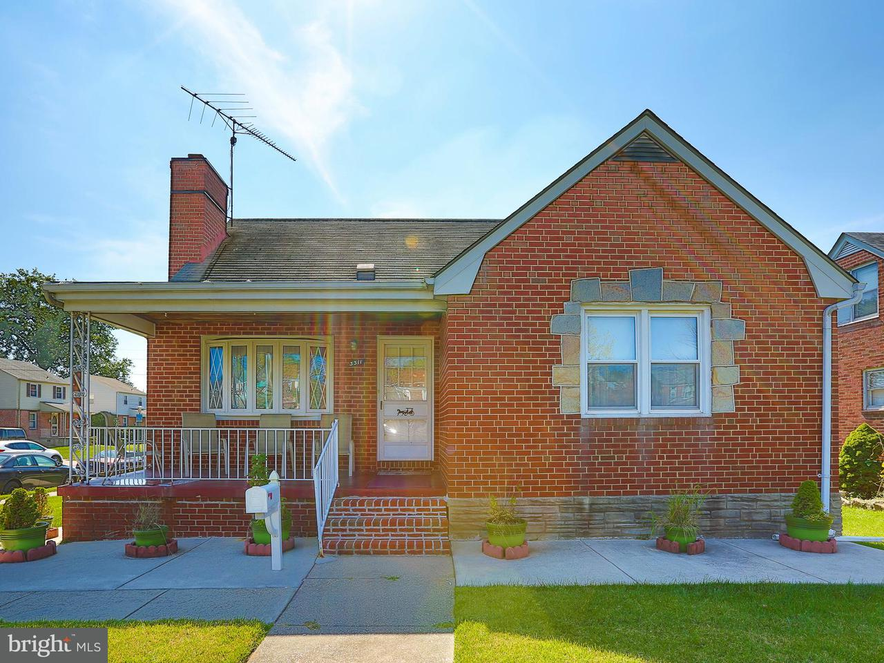 Single Family for Sale at 3311 East Northern Pkwy E Baltimore, Maryland 21206 United States
