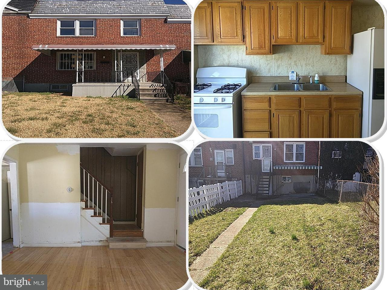 Single Family for Sale at 711 Wicklow Rd Baltimore, Maryland 21229 United States