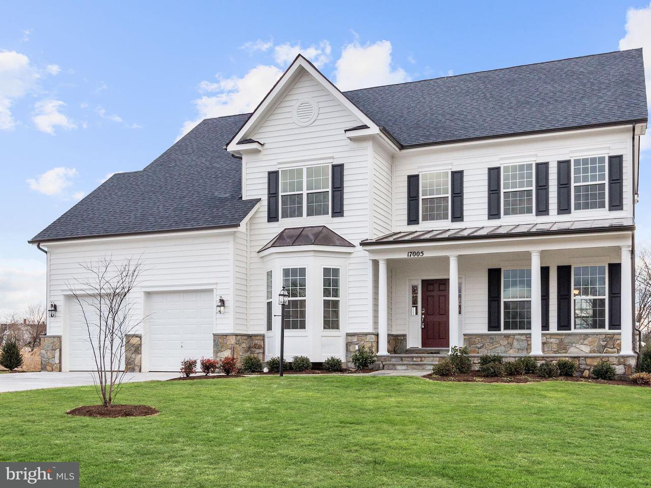 단독 가정 주택 용 매매 에 17005 Bennett Way 17005 Bennett Way Poolesville, 메릴랜드 20837 미국