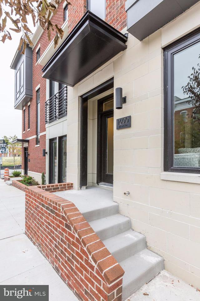 Single Family for Sale at 1600 Beason St Baltimore, Maryland 21230 United States