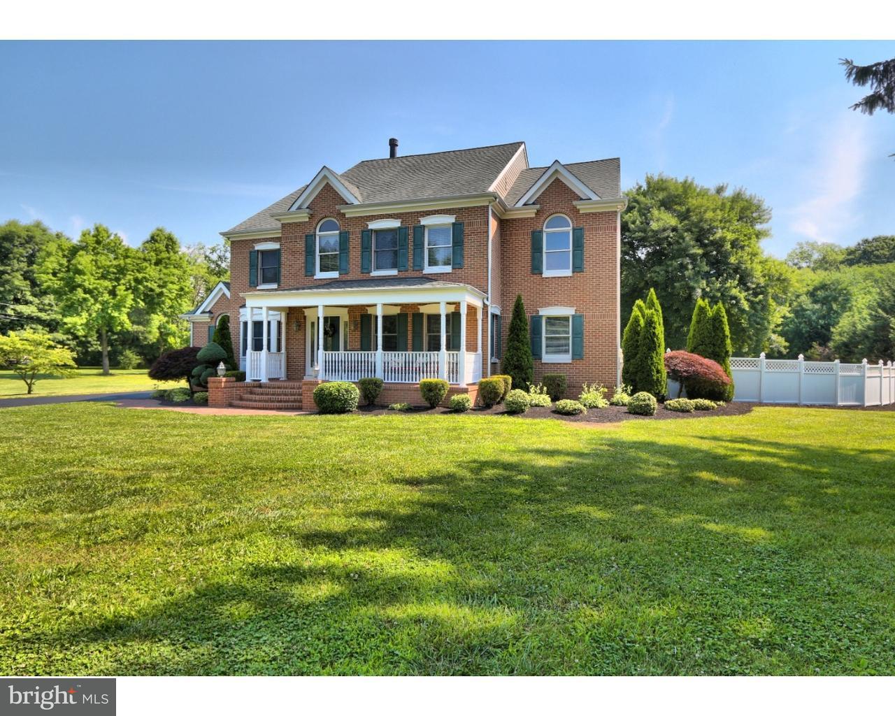 Maison unifamiliale pour l Vente à 1011 POTTS MILL Road Bordentown, New Jersey 08505 États-Unis
