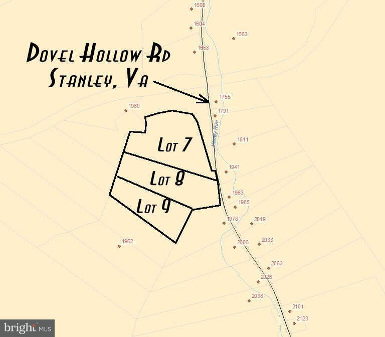 Land for Sale at 1986 Dovel Hollow Rd Stanley, Virginia 22851 United States