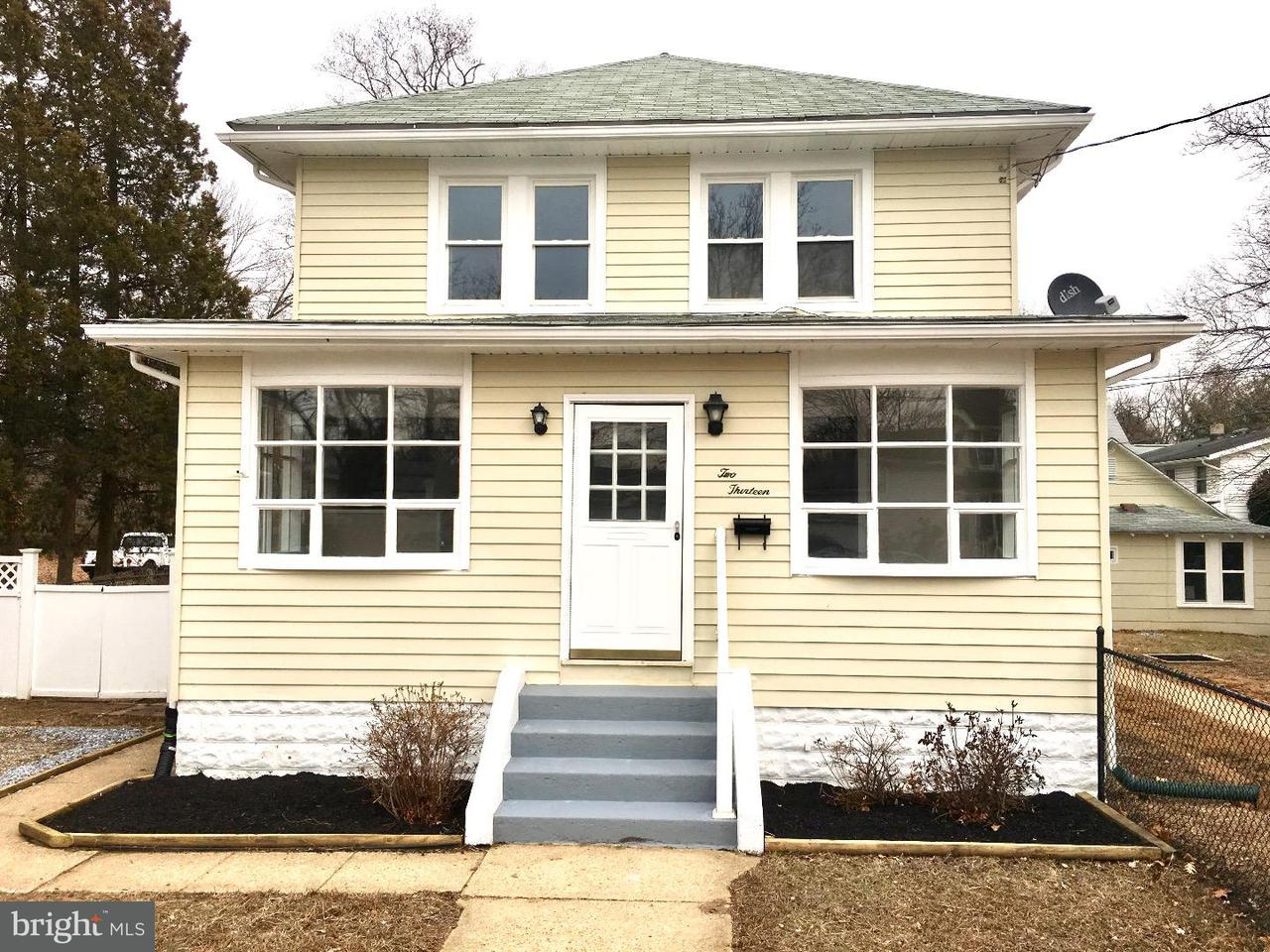 Casa Unifamiliar por un Venta en 213-215 NEW JERSEY Avenue National Park, Nueva Jersey 08063 Estados Unidos