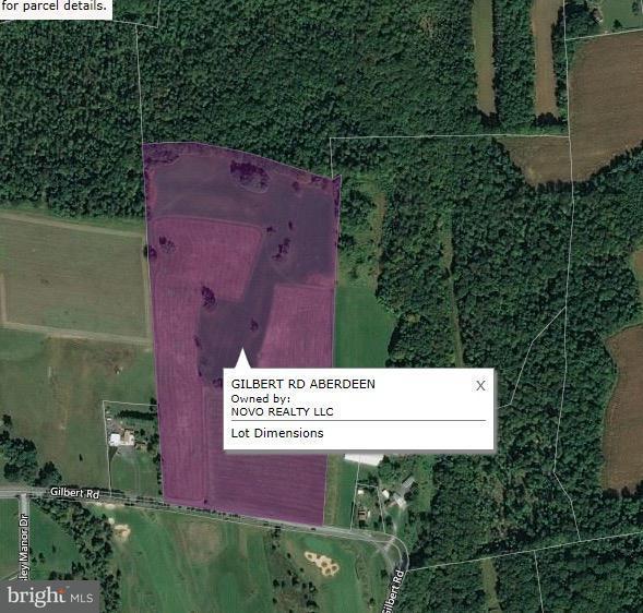 Terreno por un Venta en Gilbert Road Gilbert Road Aberdeen, Maryland 21001 Estados Unidos