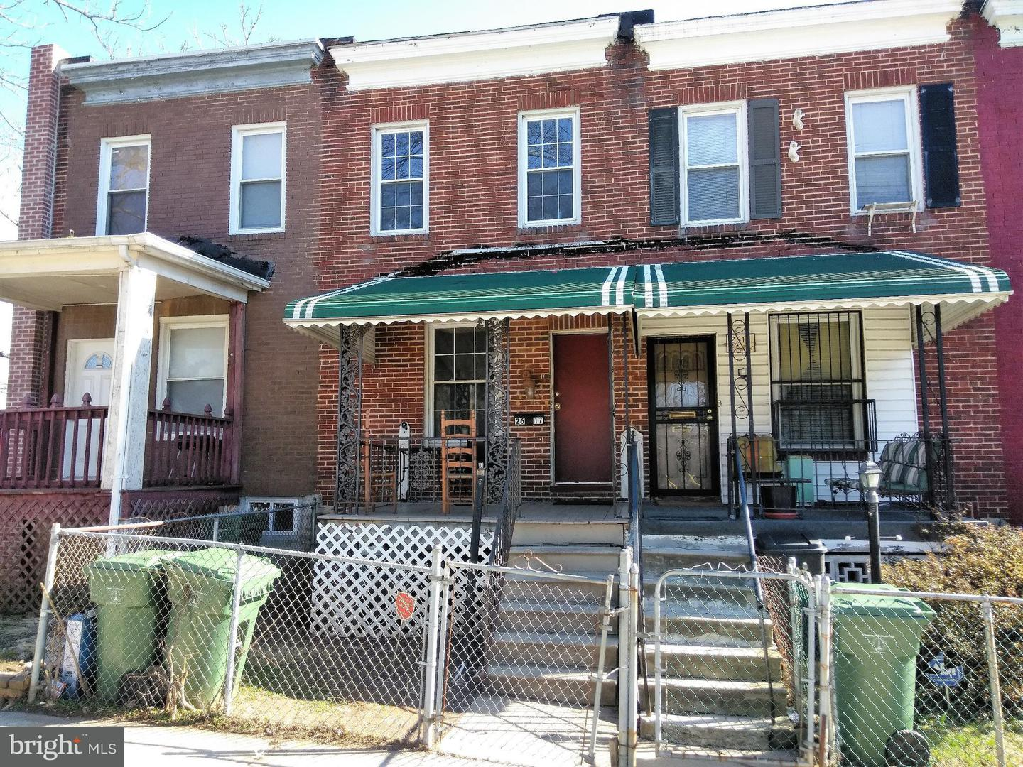 Single Family for Sale at 2617 Rosewood Ave Baltimore, Maryland 21215 United States
