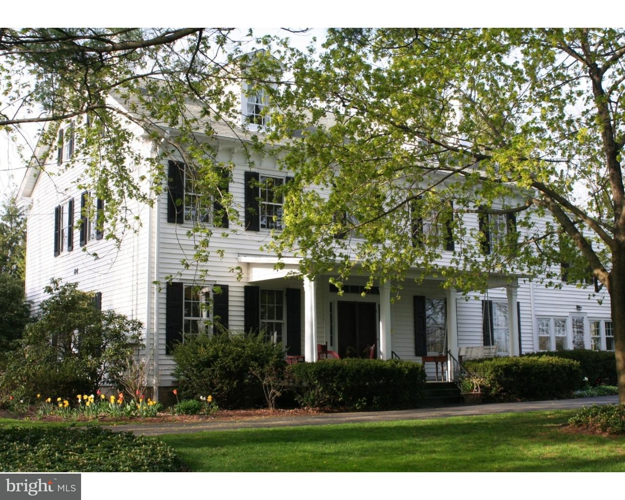 Einfamilienhaus für Verkauf beim 84 WALNFORD Road Allentown, New Jersey 08501 Vereinigte StaatenIn/Rund um: Upper Freehold Township