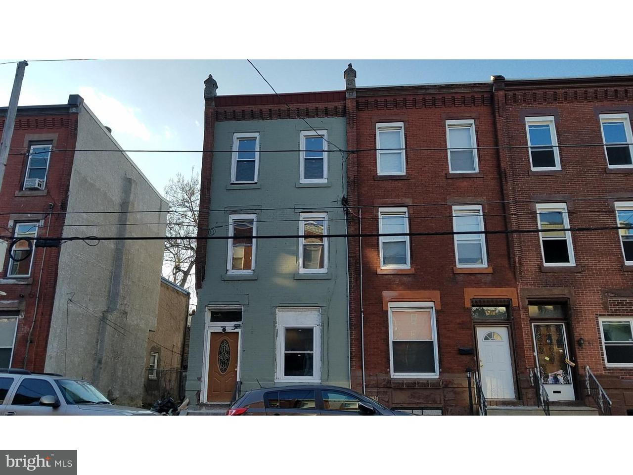 Townhouse for Sale at 1712 N 25TH Street Philadelphia, Pennsylvania 19121 United States