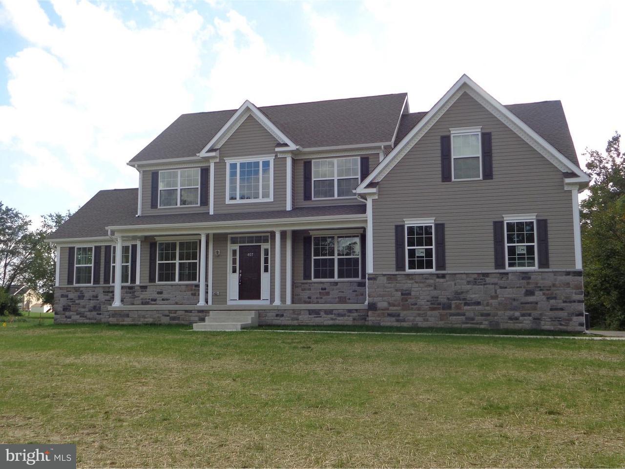 Maison unifamiliale pour l Vente à 405 JESSUPS MILL Road Mantua, New Jersey 08051 États-Unis