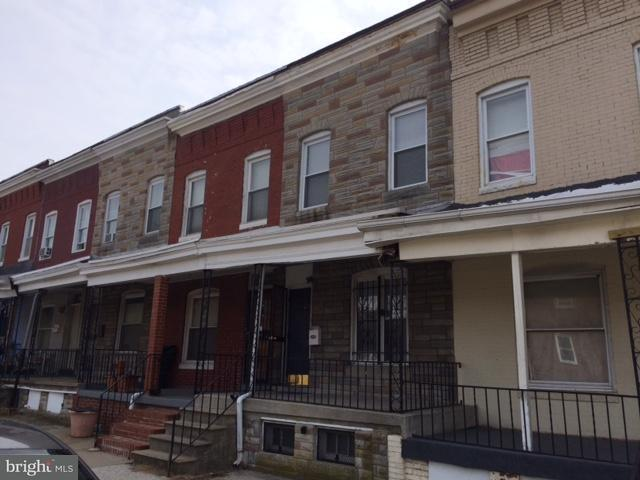 Single Family for Sale at 2809 Preston St E Baltimore, Maryland 21213 United States