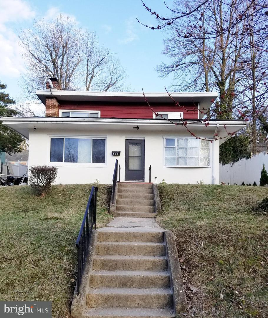 Single Family for Sale at 415 Wickham Rd Baltimore, Maryland 21229 United States