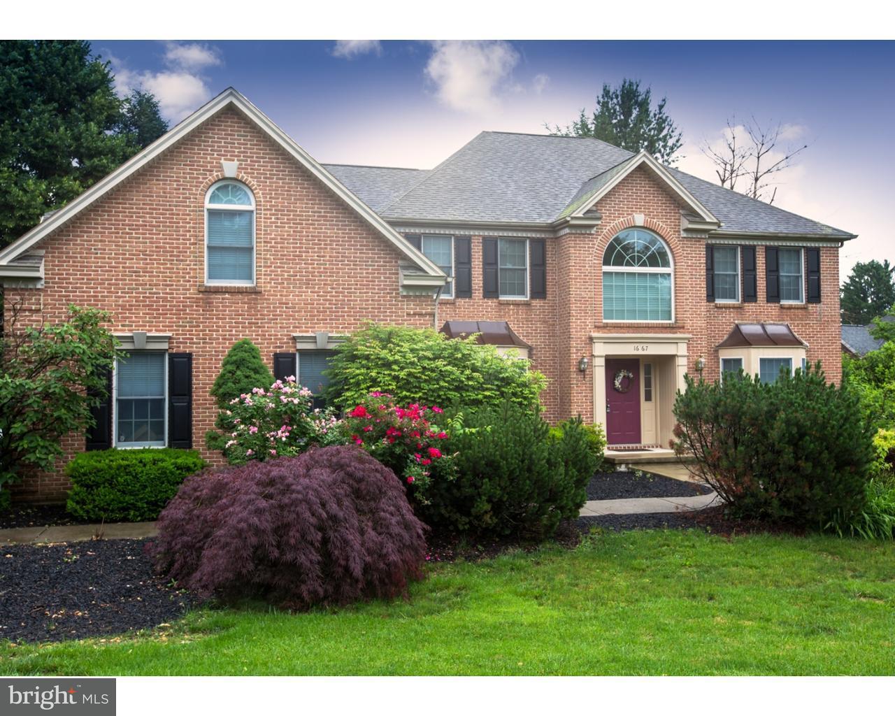 Casa Unifamiliar por un Venta en 1667 PENNS XING Allentown, Pennsylvania 18104 Estados Unidos