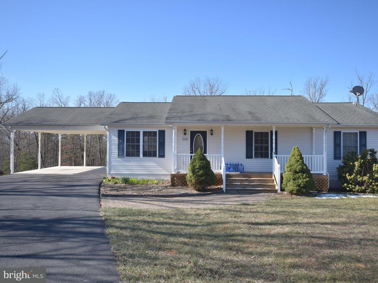 Single Family for Sale at 1014 Wakeman Mill Rd Front Royal, Virginia 22630 United States