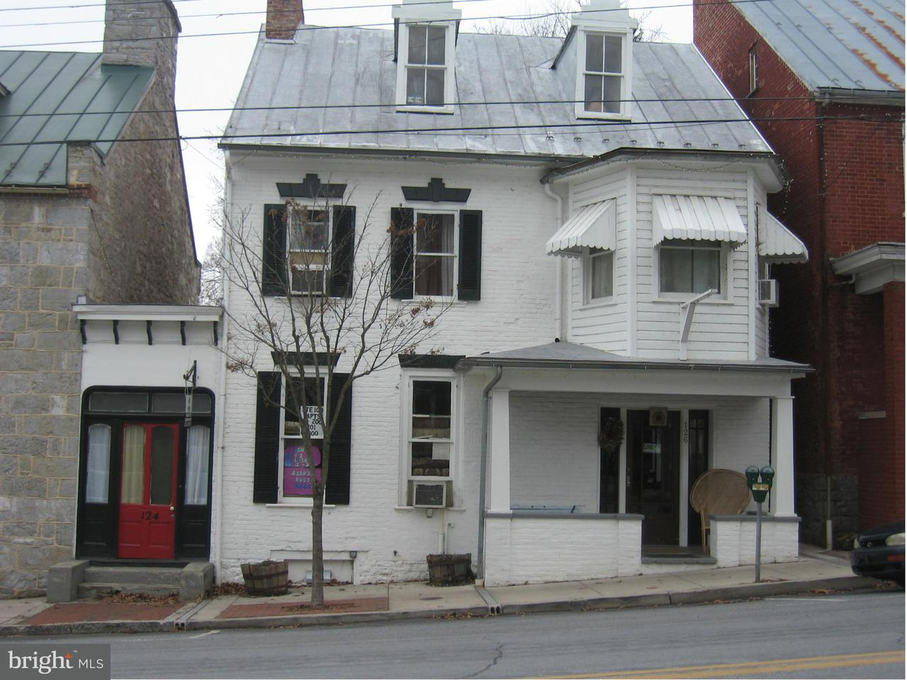 Commercial for Sale at 124126 German St W Shepherdstown, West Virginia 25443 United States