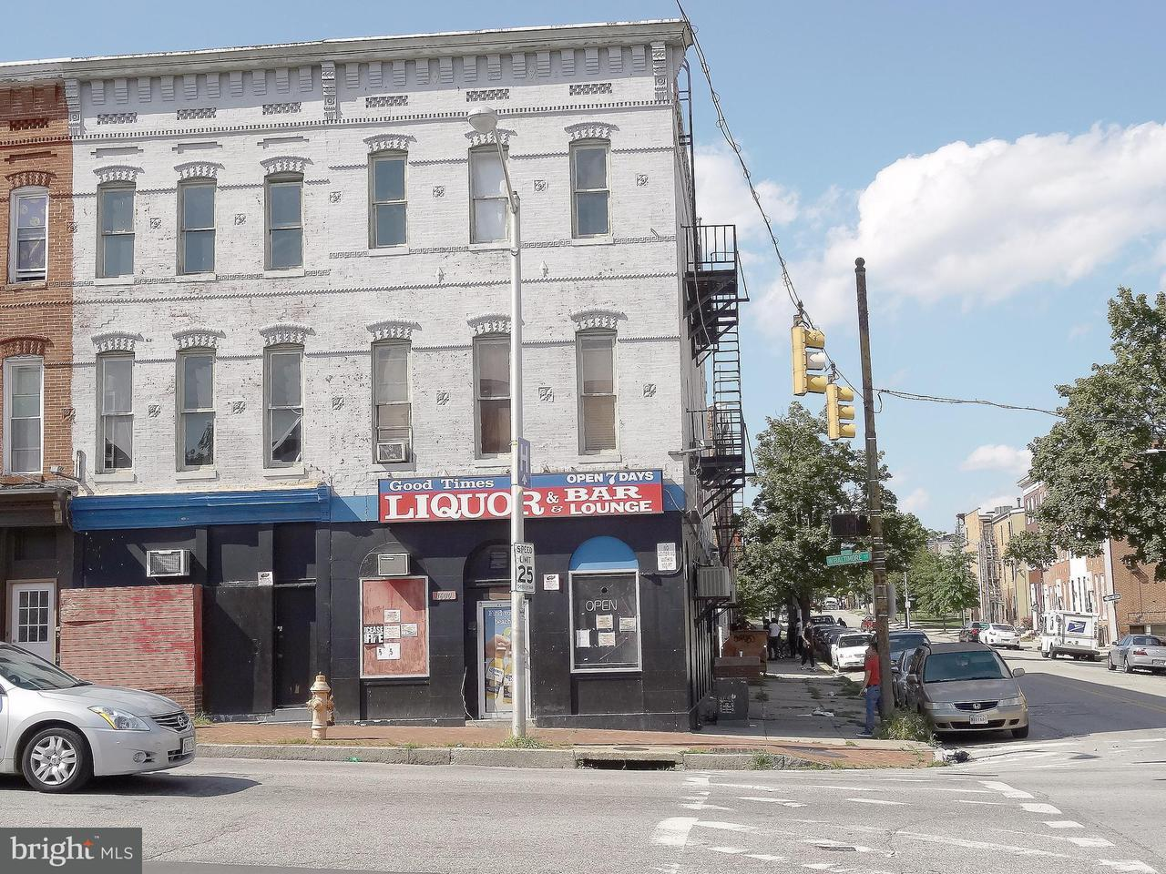 Commercial for Sale at 1600 Baltimore St Baltimore, Maryland 21223 United States