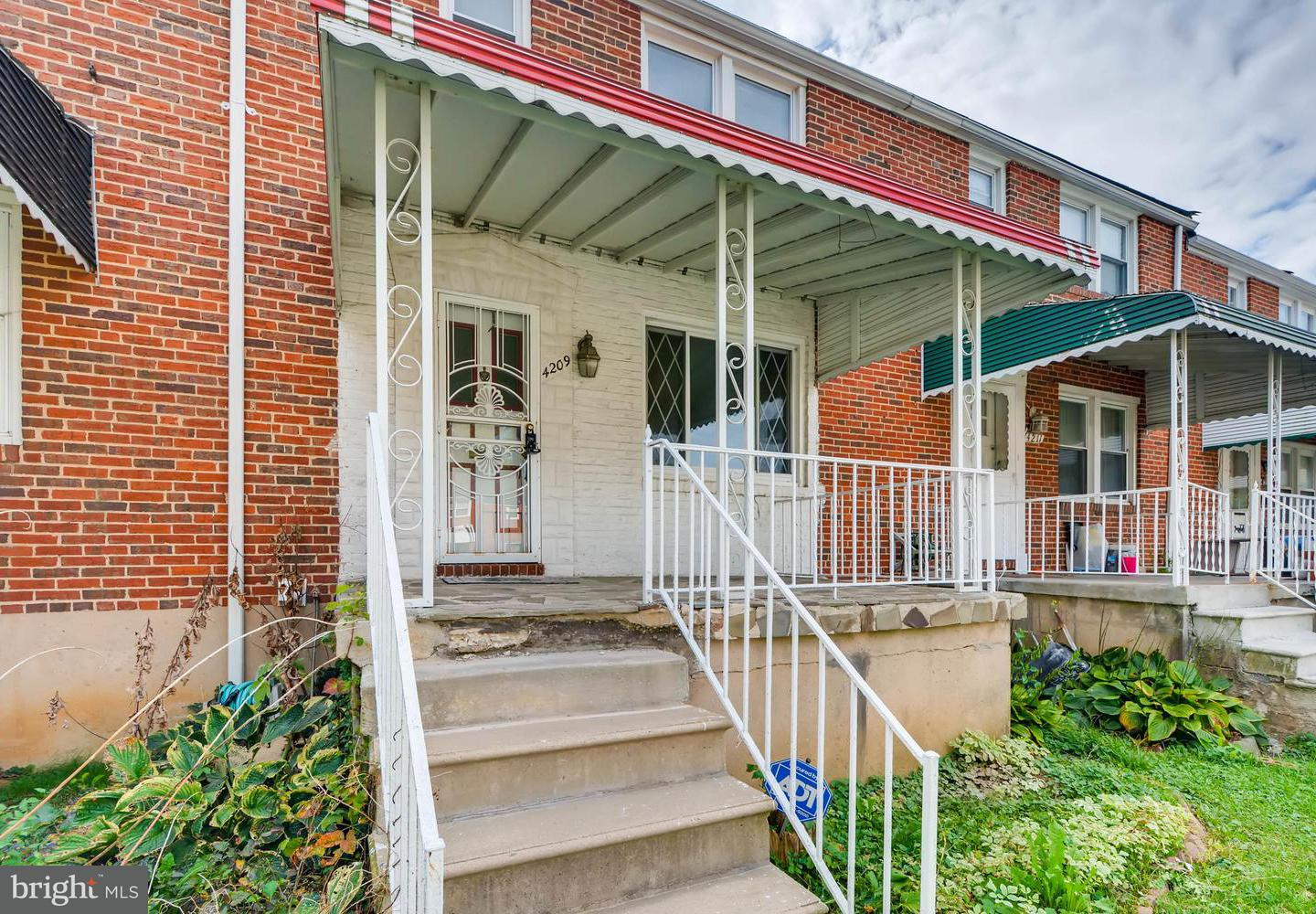 Single Family for Sale at 4209 Rogers Ave W Baltimore, Maryland 21215 United States