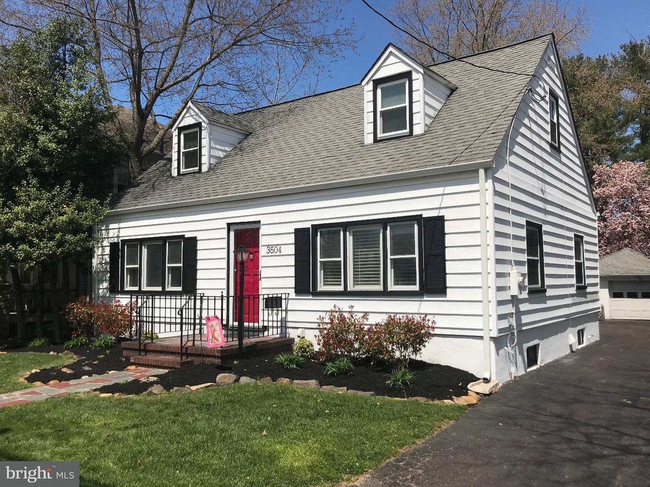 Single Family Home for Sale at 3504 NOTTINGHAM WAY Hamilton Square, New Jersey 08690 United StatesMunicipality: Hamilton Township