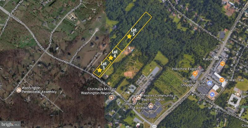 Land for Sale at 109 Norwood Road 109 Norwood Road Silver Spring, Maryland 20905 United States