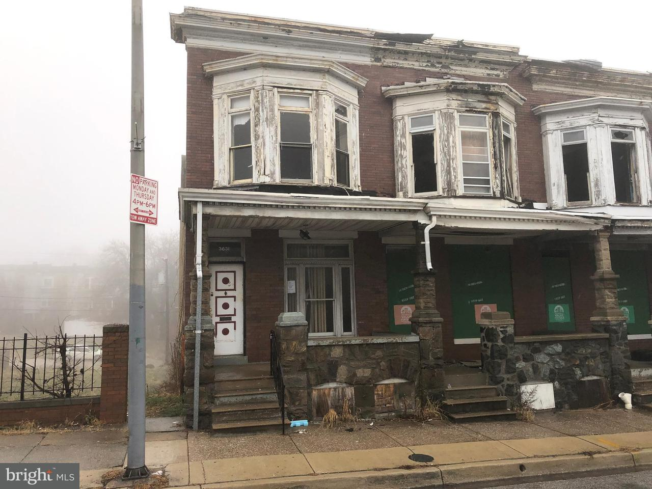 Single Family for Sale at 3631 Park Heights Ave Baltimore, Maryland 21215 United States