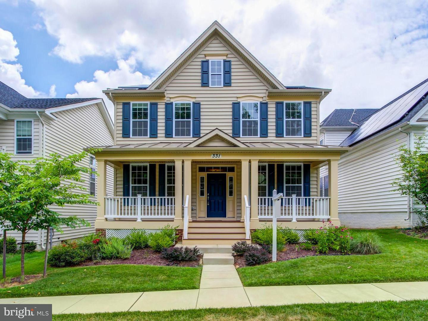 Single Family for Sale at 331 Picea View Ct Derwood, Maryland 20855 United States