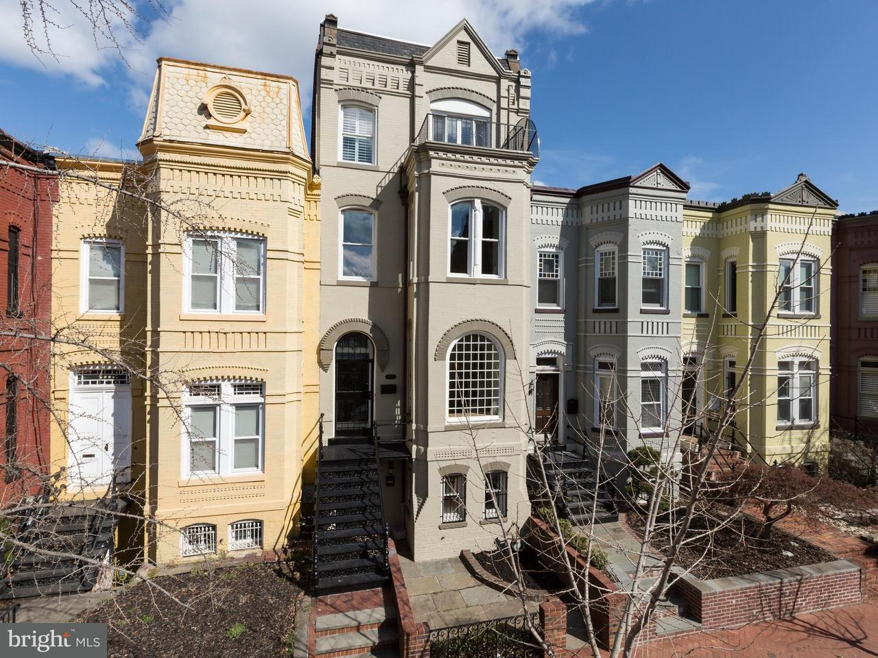 Single Family for Sale at 1517 Corcoran St NW Washington, District Of Columbia 20009 United States